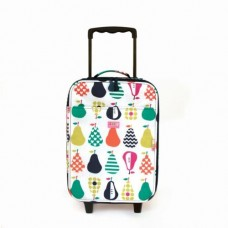 Wheelie Bag Kids Suitcase - Pear Salad - Penny Scallan LAST ONE!!!!